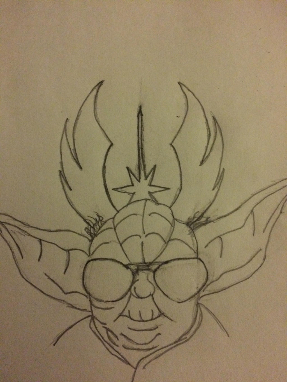 Yoda in Sunglasses by KhiddRetro96