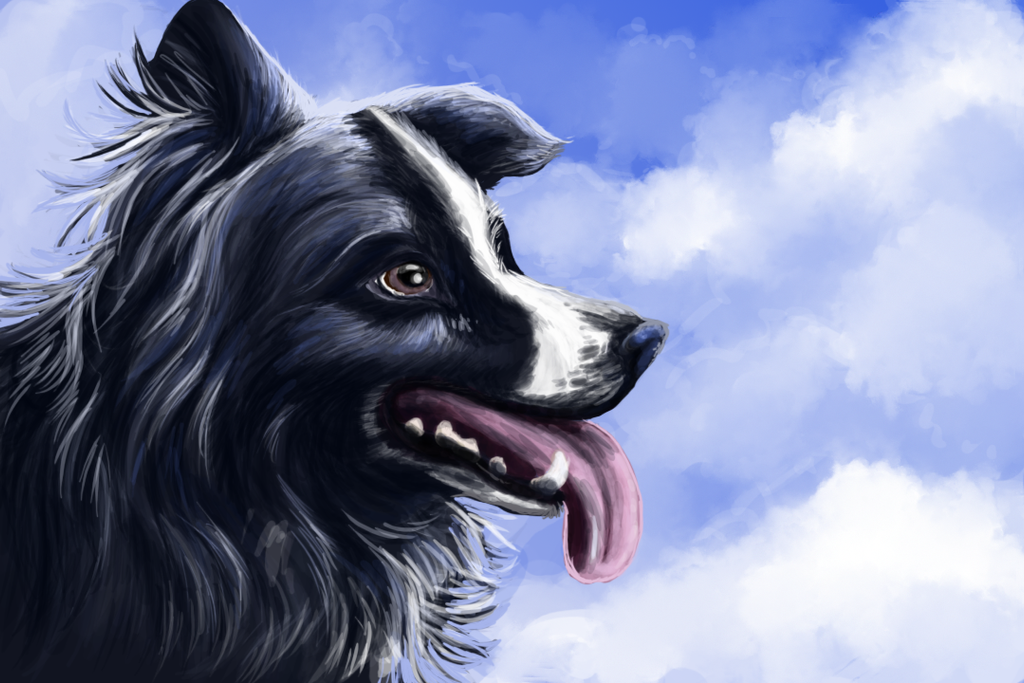 My first speed paint by CyanLights