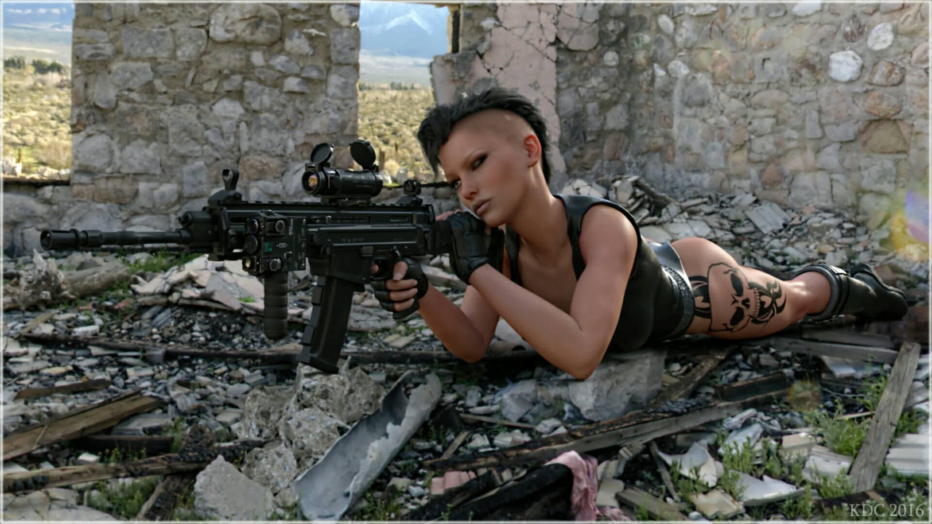 Sniper.  by lizard59