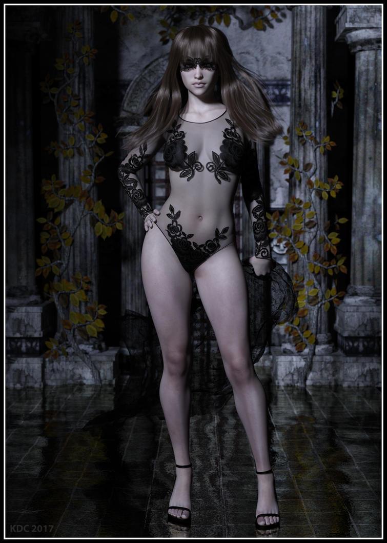 Lady Lace. by lizard59