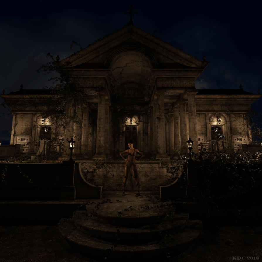 Such a creepy place. by lizard59