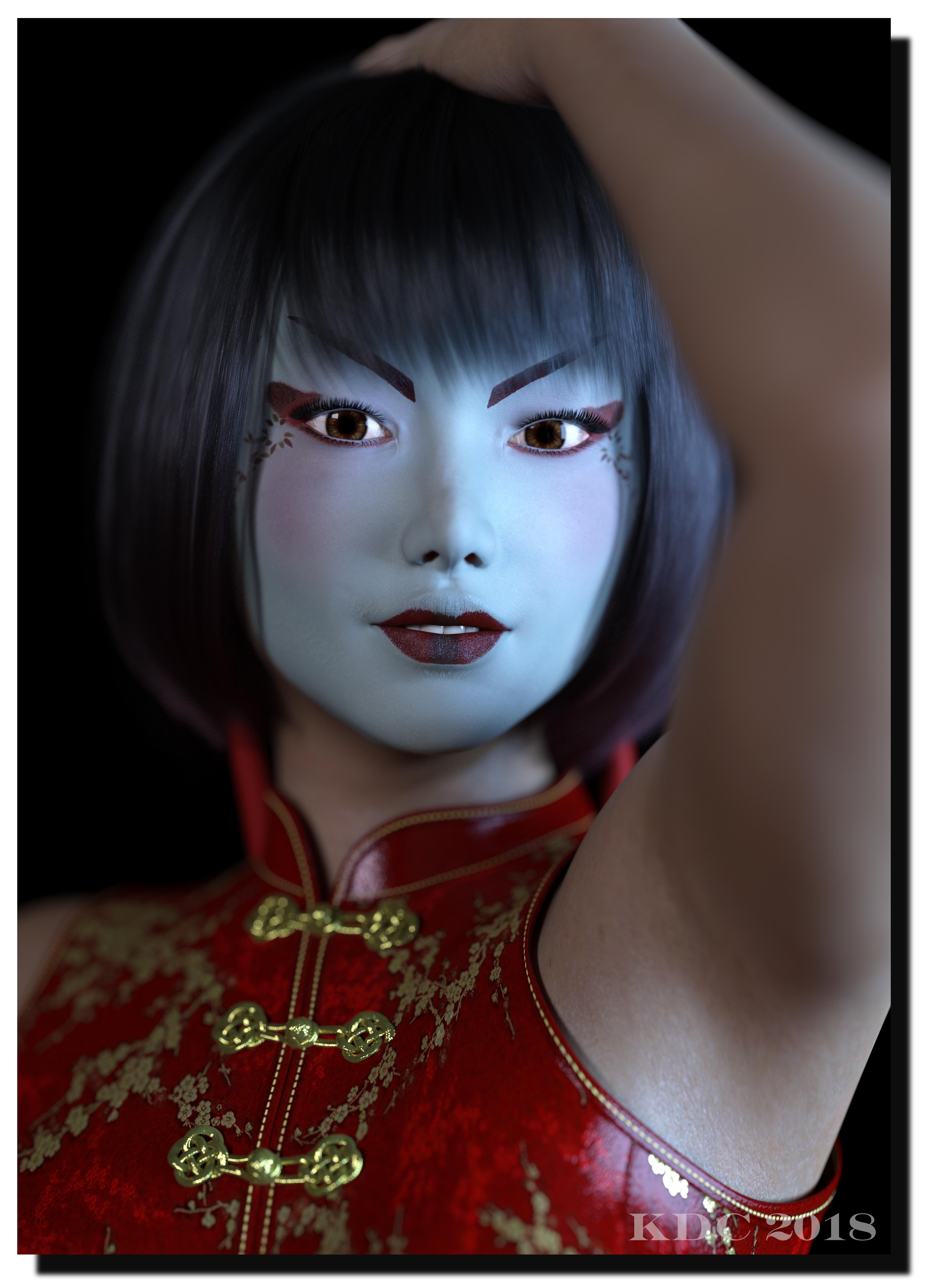 Jingfei. by lizard59