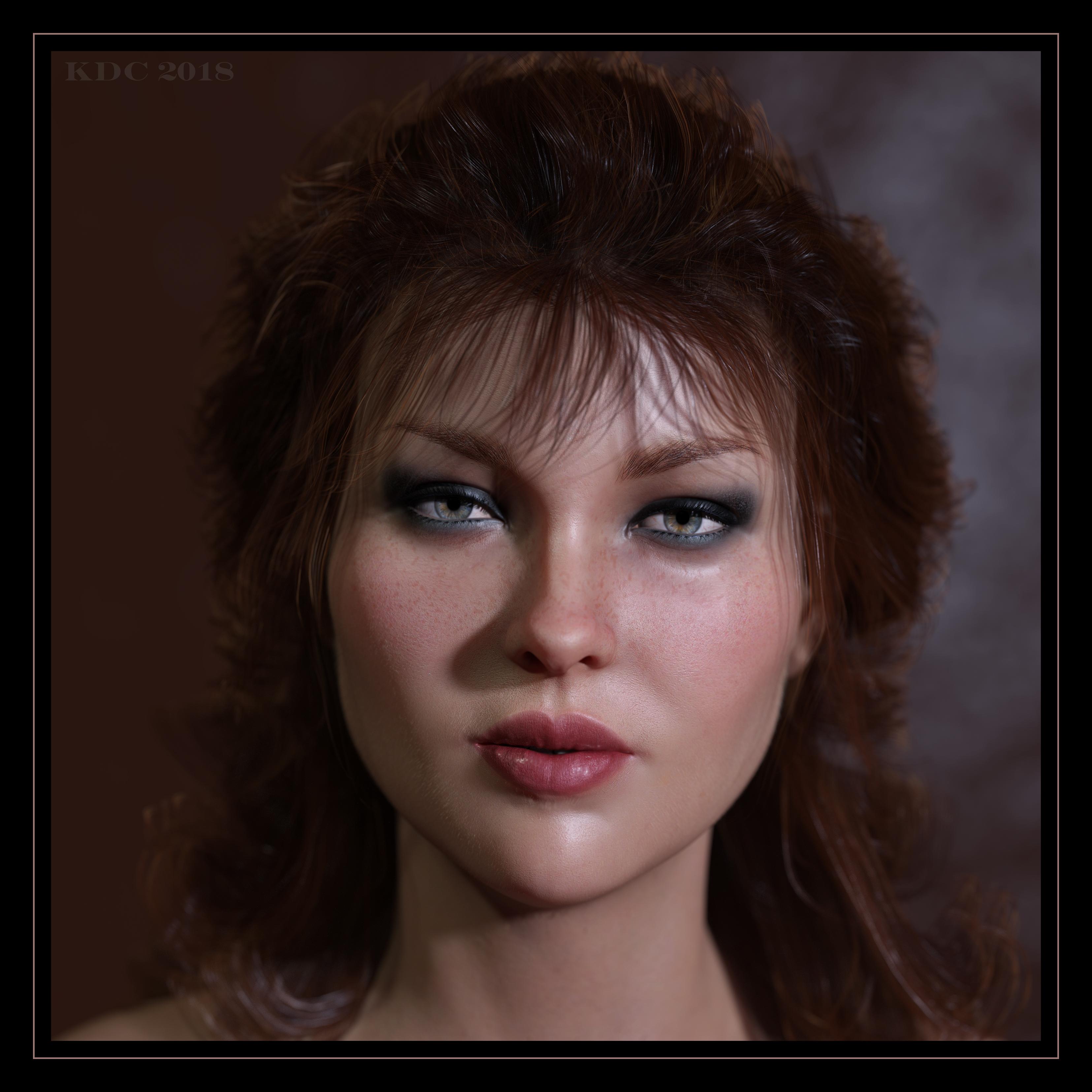 Lady Redhead Again by lizard59