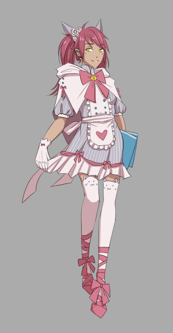 MAGE - Hihi Kitty Maid by faithom