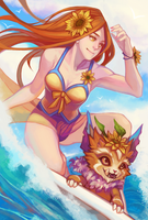 LoL - Surf's Up by faithom