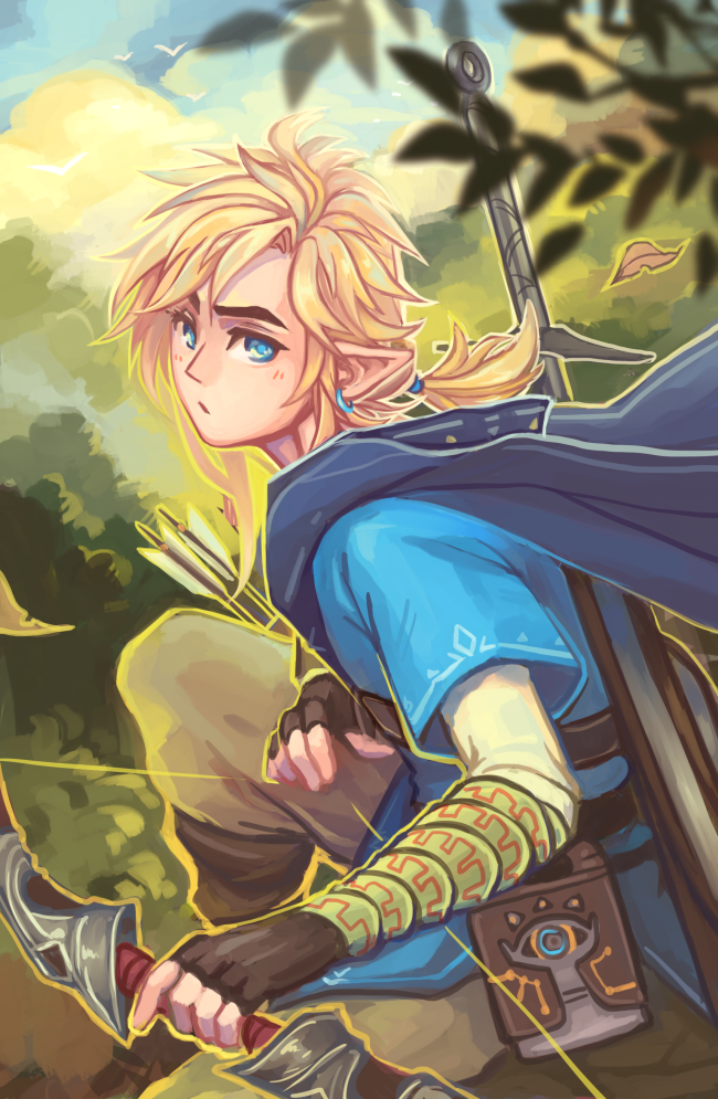Loz Breath Of The Wild By Faithom On Deviantart