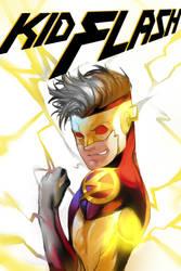 Kid Flash by onlyfuge