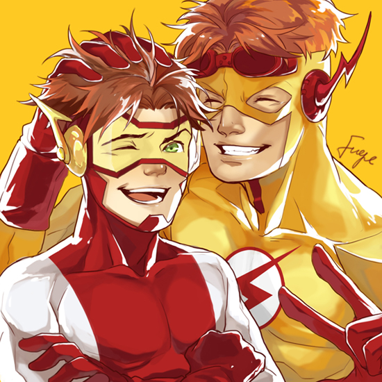 Wally and bart(YJ) by onlyfuge