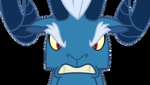 Grogar's Angry Stare