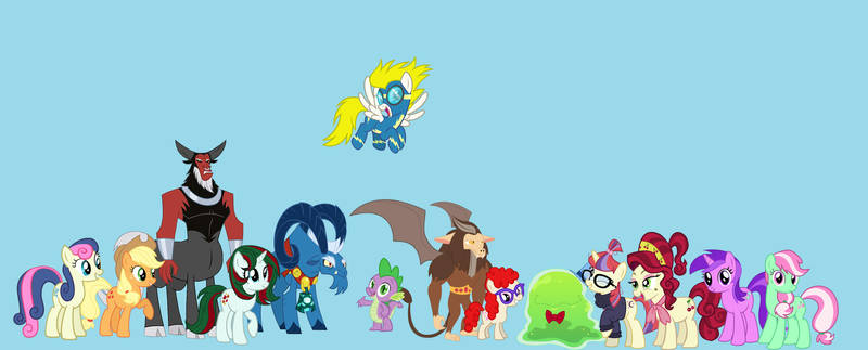 The Characters From G1 MLP