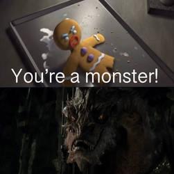 Gingy Calls Smaug A Monster