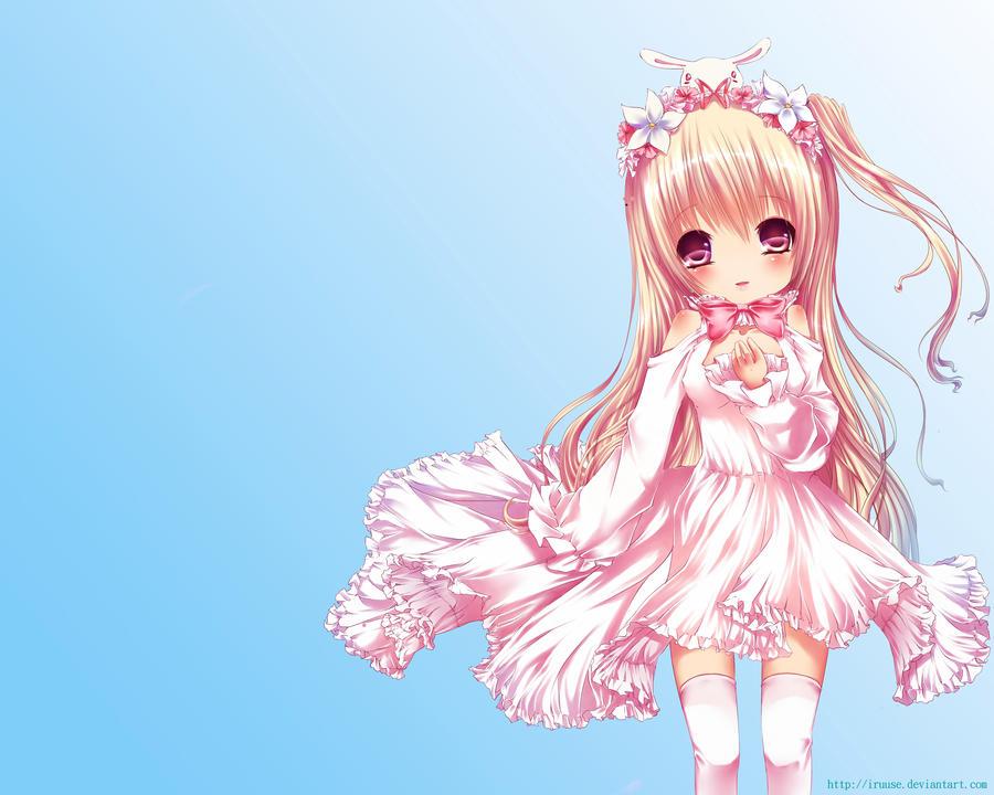 Cute innocent anime girl