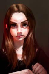 Self portrait by Iruuse
