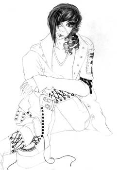 OC Character Sketch : Kitsui
