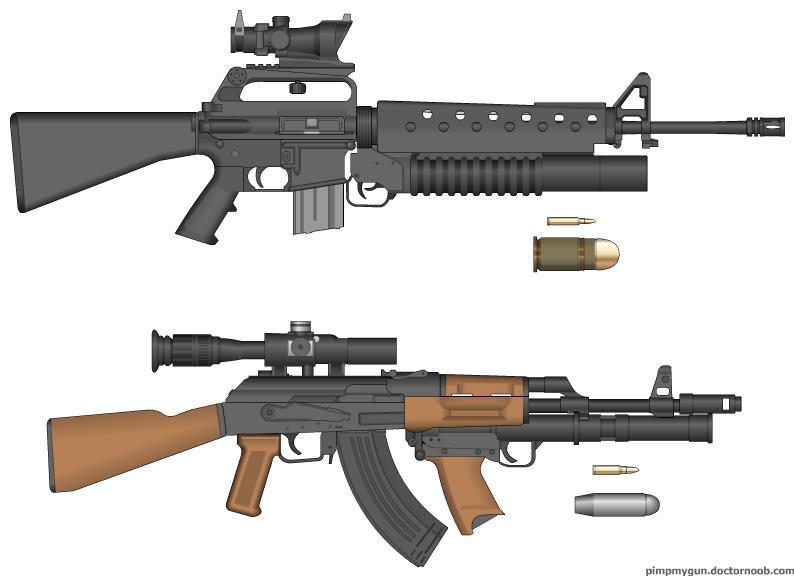 Pictures of Ak 47 Bullet Vs M16 Bullet - #rock-cafe