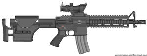 Fallout: New Vegas Marksman Rifle