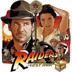 Indiana Jones Raiders Of The Lost Ark 1981 v3 by ungrateful601010