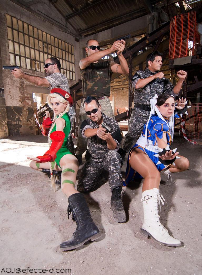 Street Fighter... Team Ready! by GuenDoourden