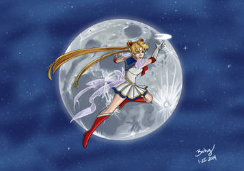 Sailor Moon by labeckinator