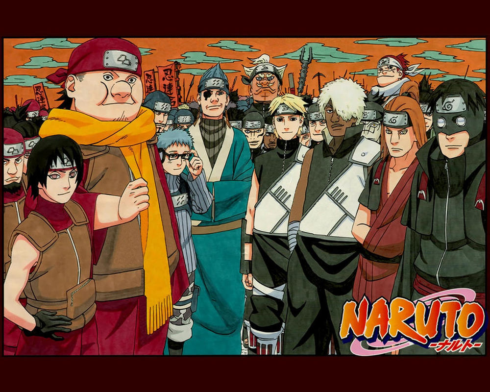 Naruto 489 Cover by johnny182ee