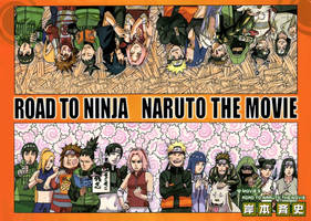 Road to Naruto the Movie Cover