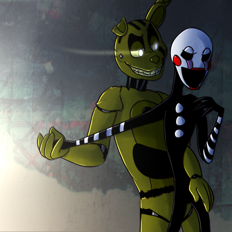 FNAF: Are You Saving Me? (Springaling) By DrGaster On