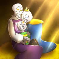 UT: The Golden Family (Secret Santa) by DrGaster