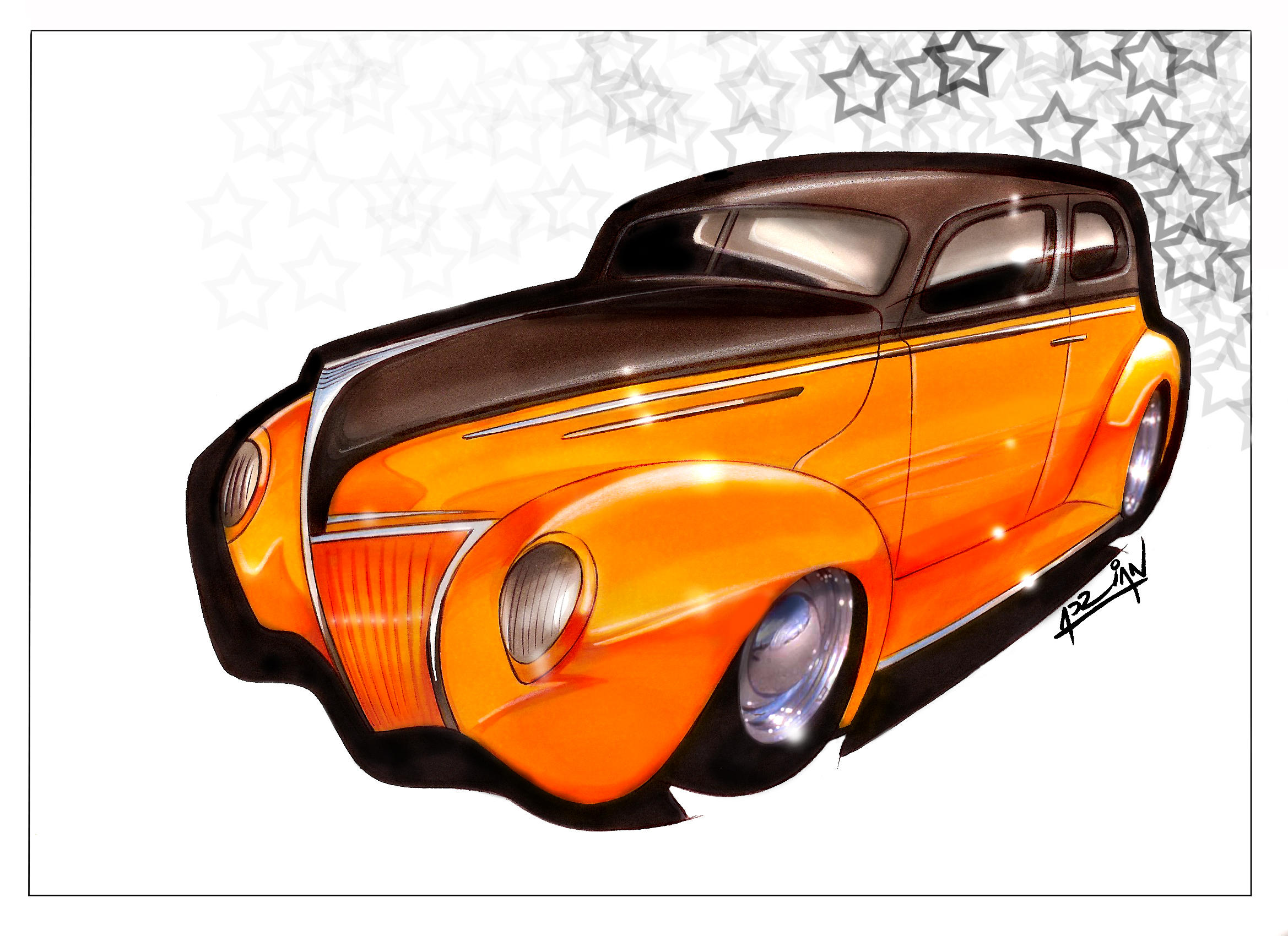 30's Ford Hot Rod by