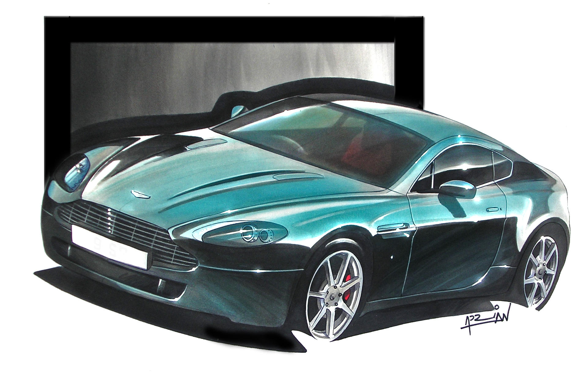 aston martin amv8 by auto concept on deviantart. Black Bedroom Furniture Sets. Home Design Ideas