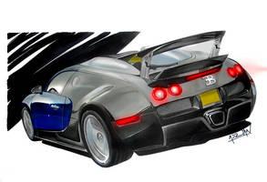 Bugatti Veyron by auto-concept