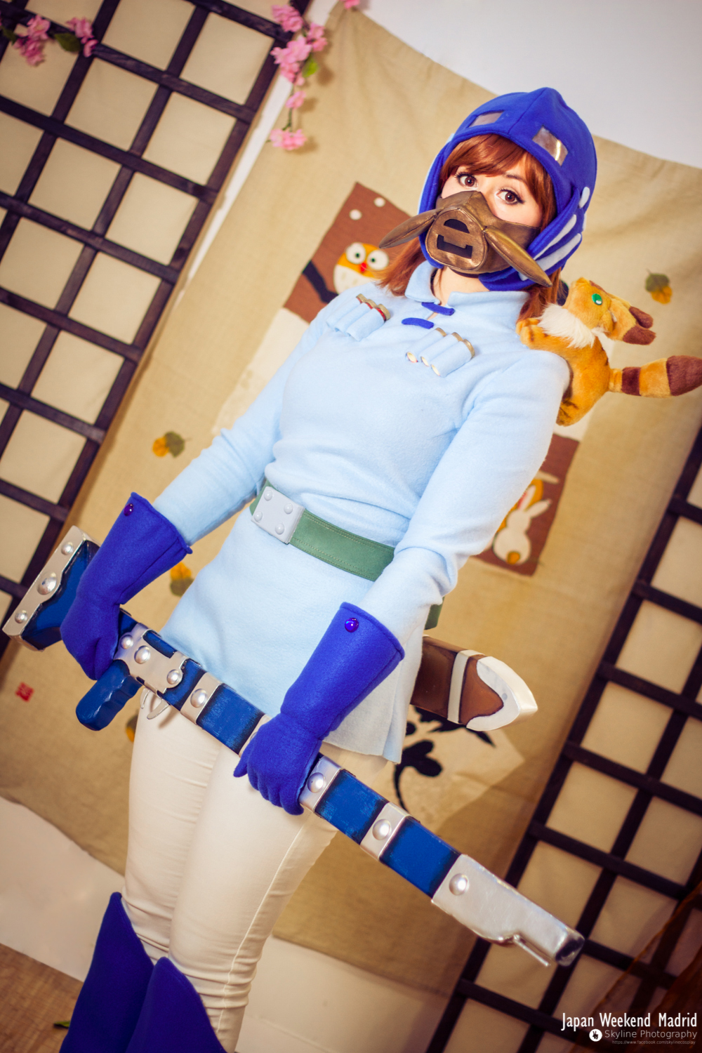 nausicaa of the valley of the wind on ghibli cosplay