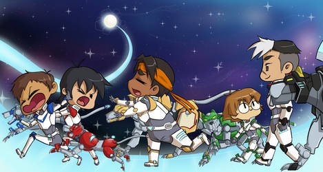 Voltron Children by happygurl4evr