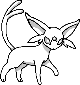 Espeon Base by fluttershy128