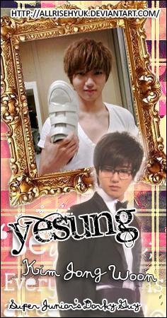 Yesung - Kim Jong Woon by AllRiseHyuk