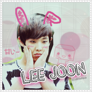 Bunny Joon MBLAQ by AllRiseHyuk