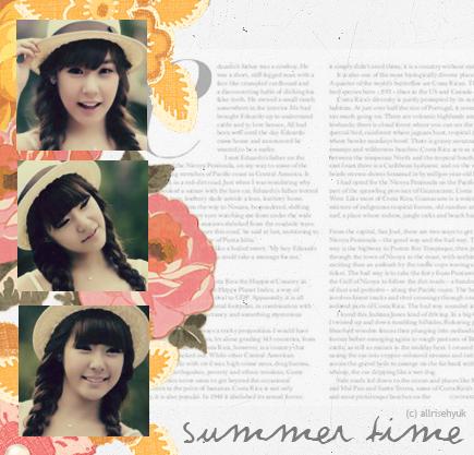 Summer Time - Tiffany by AllRiseHyuk