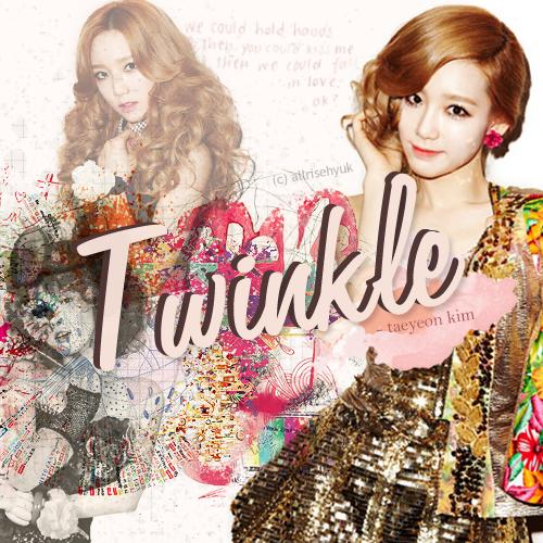 twinkle - taeyeon. by AllRiseHyuk