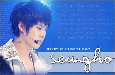 MBLAQ Seungho Signature by AllRiseHyuk
