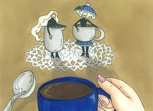 Mme sucre et Mme creme
