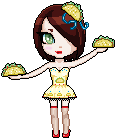 Taco Girl Pixel by Sexy-Taco