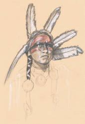 Tribal Dancer by revolutionheart