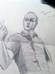 Greg Graffin sketch by revolutionheart