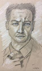 Jeremy Renner sketch by revolutionheart
