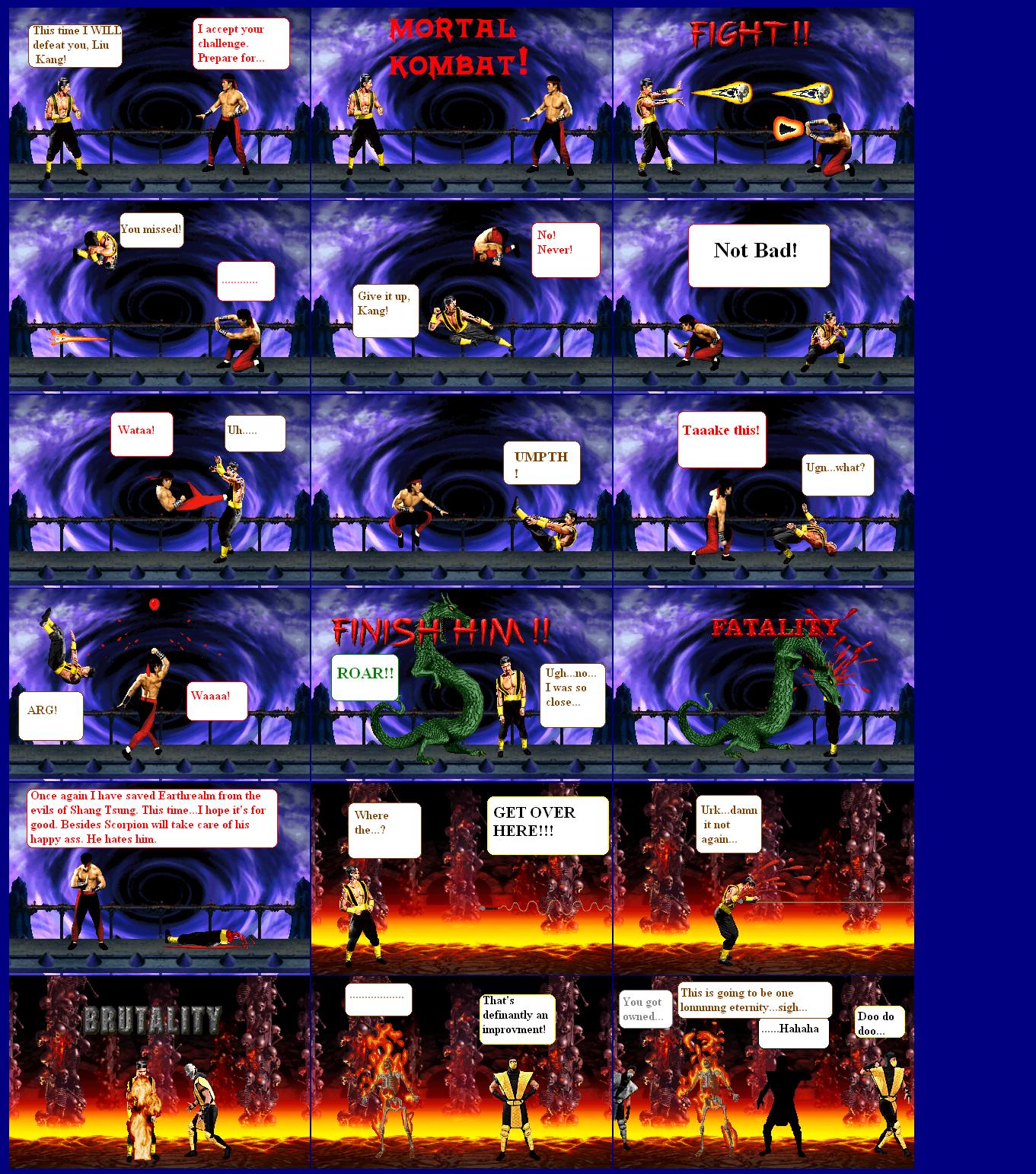 Mortal kombat shang tsung vs liu kang - photo#15