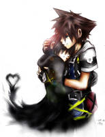 In your arms. SoXion by CherryStarwberry7