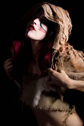 Kate Hood Shrug Cave Girl