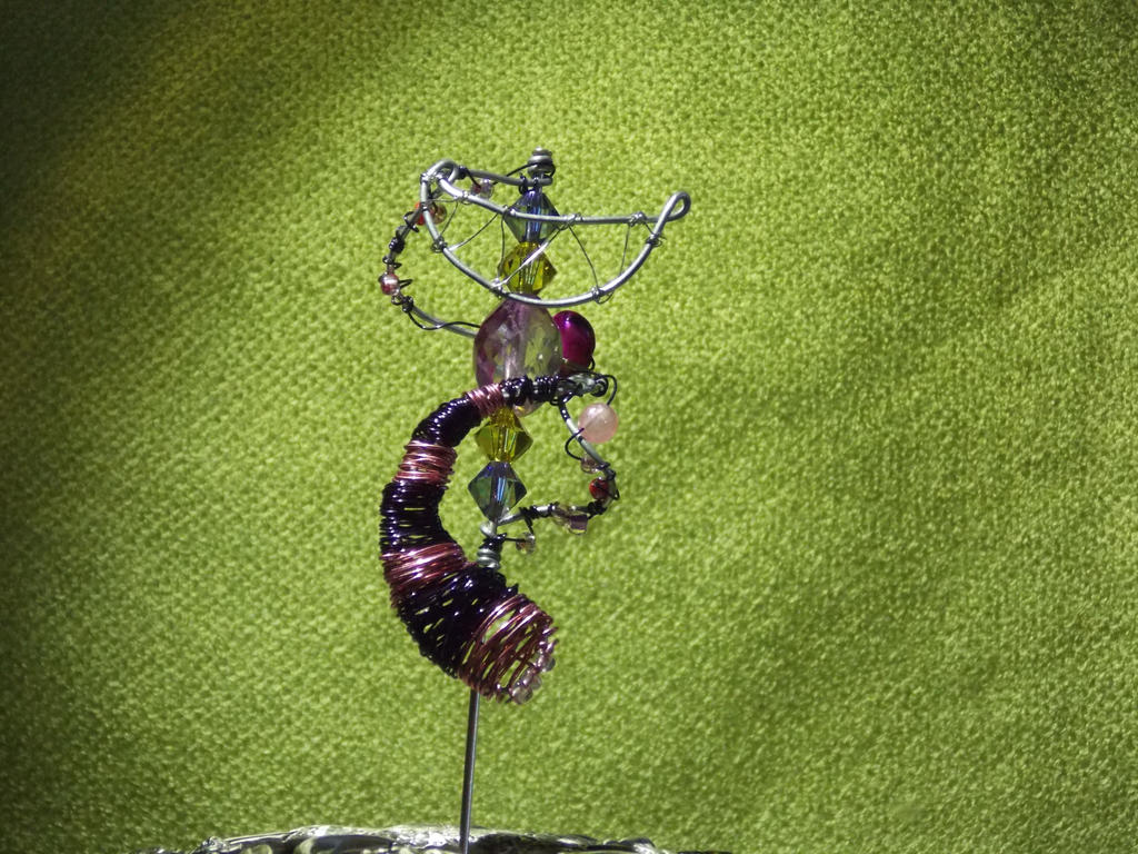 Cheshire Cat Hatpin by PirateArrowXAB