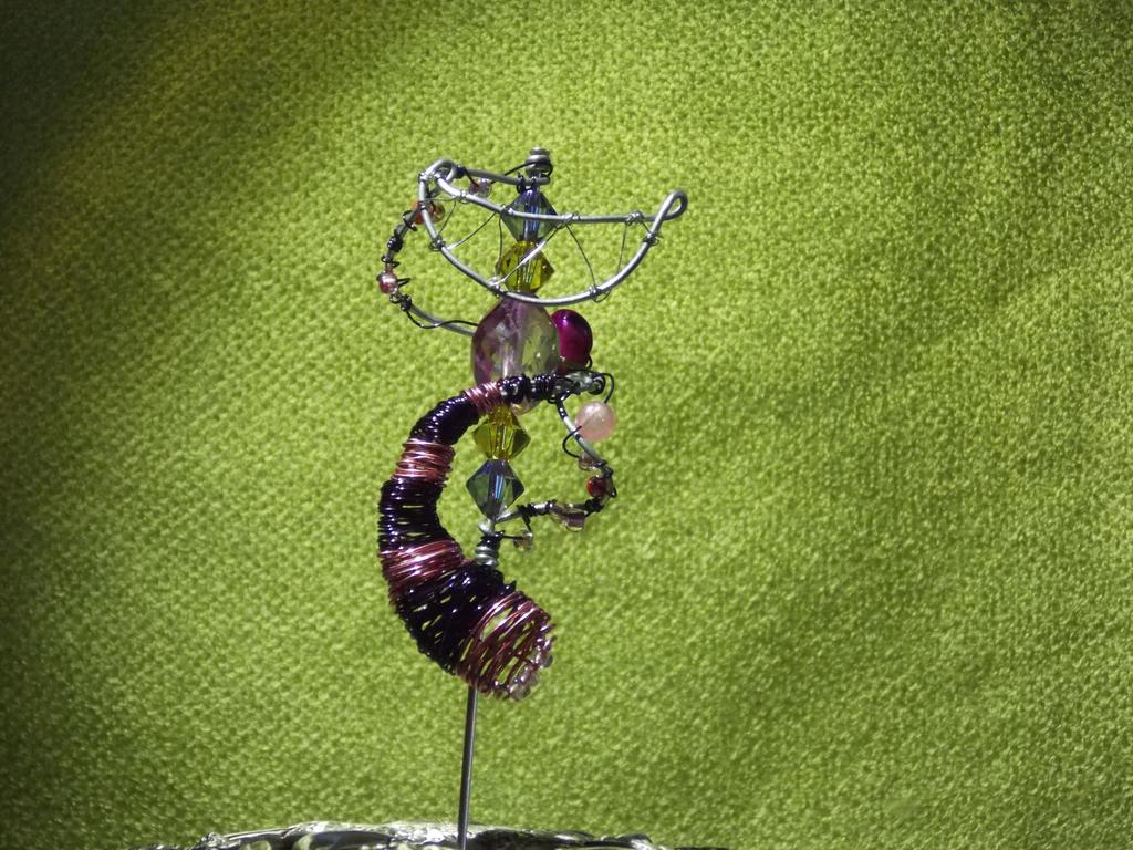 Cheshire Cat Hatpin by PirateArrowXAB