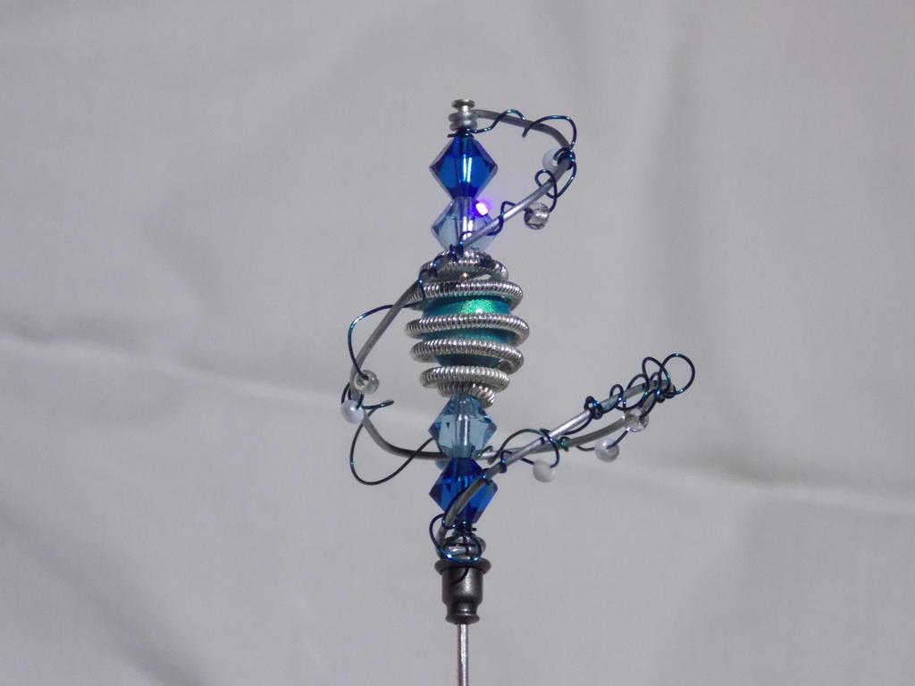 Frozen Hatpin by PirateArrowXAB