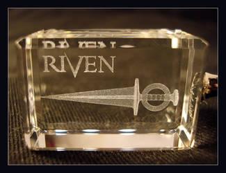 Riven Dagger 3D Keyring 1 by riumplus